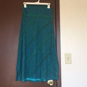 Alpine Design Teal Maci skirt